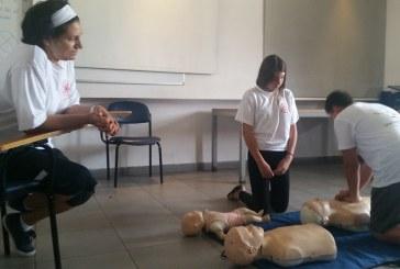 מאות נערים ונערות למדו להציל חיים