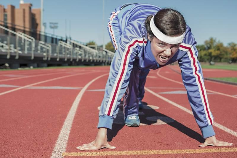 הכל במידה. ריצה|צילום: אתר pixabay.com