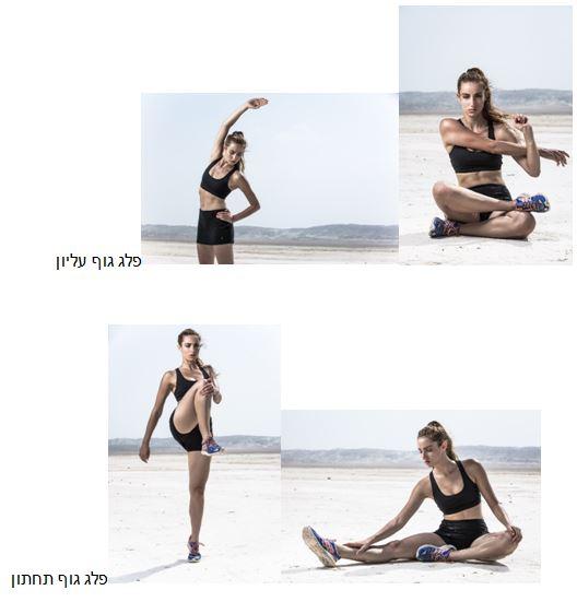 תרגילי מתיחות לפלג גוף עליון ותחתון