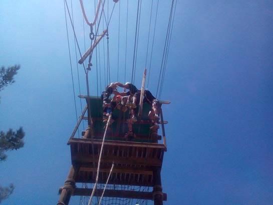 סדנאות אתגר וגובה במרכז הארצי לפיתוח מנהיגות באריאל