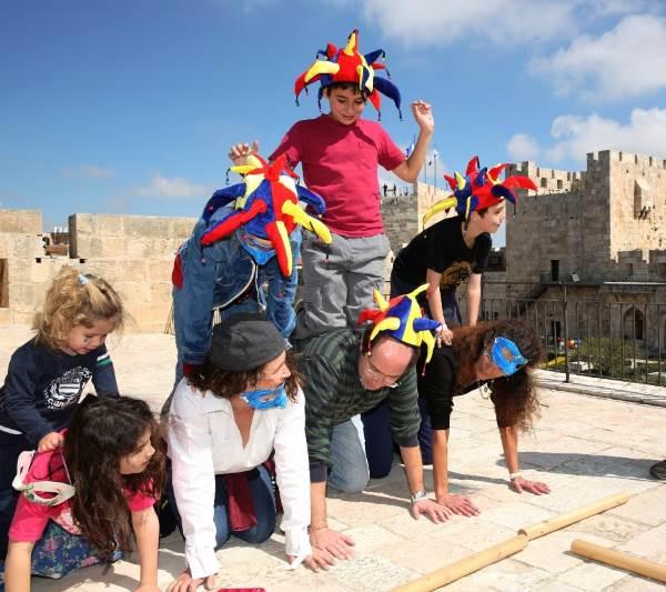 מרוץ מוזיאון מגדל דוד|צילום: עודד אנטמן