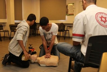 אלף בני נוער יילמדו הקיץ להציל חיים