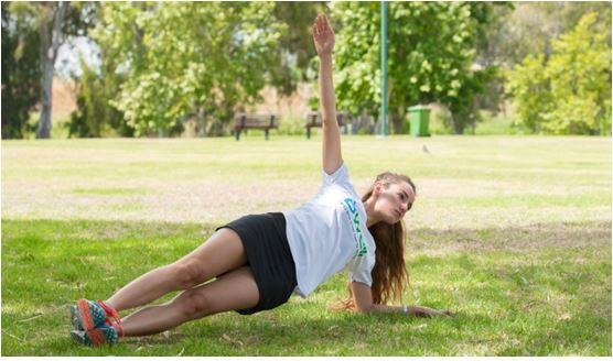 מעייף אבל כדאי – אימון לשרירי הבטן