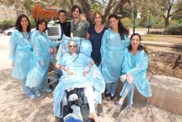 נס: הפצועה מהתאונה חוזרת לחיים