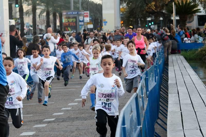 מרתון סמסונג ילדים|צילום: רונן טופלברג